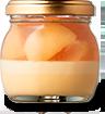 桃のコンポート